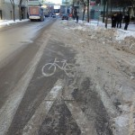 Life in the (Winter) Bike Lane