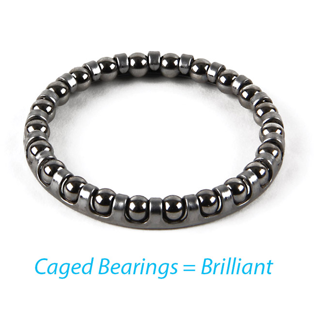 caged bearings