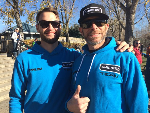 Members of Team Shimano, just being their awesome selves.